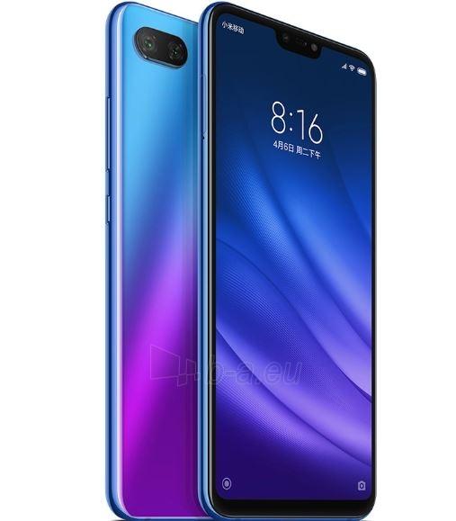 Išmanusis telefonas Xiaomi Mi 8 Lite Dual 4+64GB aurora blue Paveikslėlis 3 iš 3 310820167734