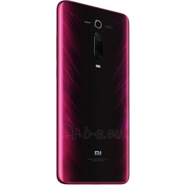 Išmanusis telefonas Xiaomi Mi 9T Dual 6+64GB flame red Paveikslėlis 4 iš 5 310820206182