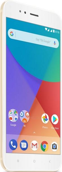 Išmanusis telefonas Xiaomi Mi A1 Dual 32GB gold Paveikslėlis 1 iš 4 310820155045