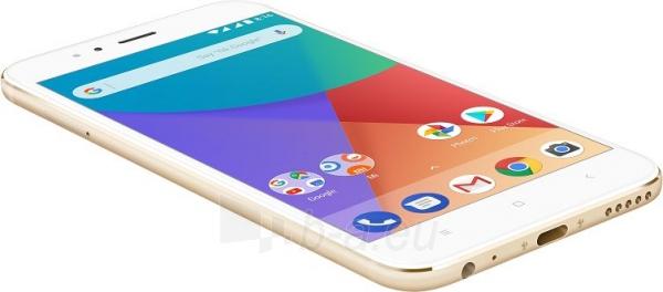 Išmanusis telefonas Xiaomi Mi A1 Dual 32GB gold Paveikslėlis 4 iš 4 310820155045