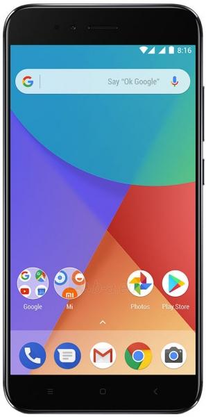Išmanusis telefonas Xiaomi Mi A1 Dual 4+64GB black Paveikslėlis 1 iš 4 310820175162