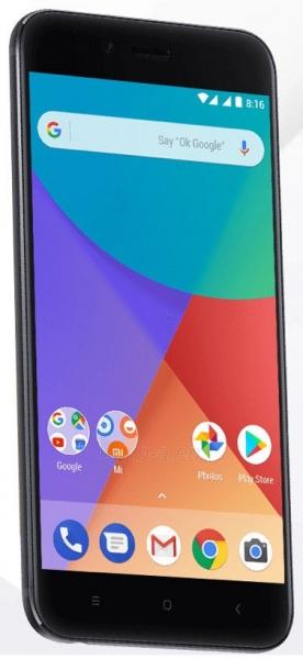 Išmanusis telefonas Xiaomi Mi A1 Dual 4+64GB black Paveikslėlis 2 iš 4 310820175162
