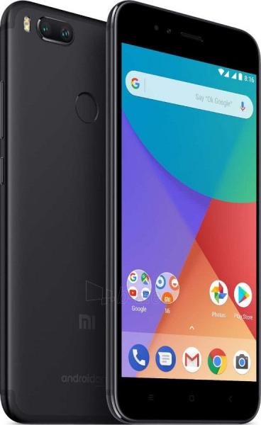 Išmanusis telefonas Xiaomi Mi A1 Dual 4+64GB black Paveikslėlis 3 iš 4 310820175162