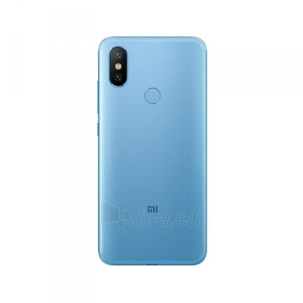 Išmanusis telefonas Xiaomi Mi A2 Dual 4+64GB blue Paveikslėlis 2 iš 3 310820160357