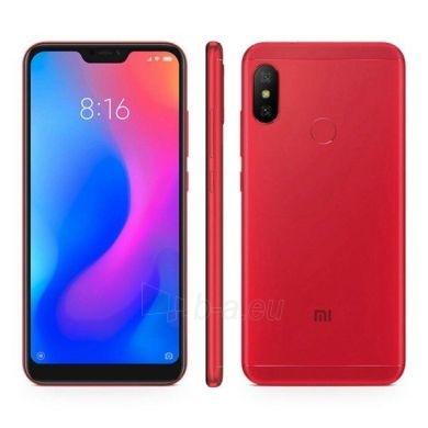 Išmanusis telefonas Xiaomi Mi A2 Dual 4+64GB red Paveikslėlis 2 iš 3 310820175193