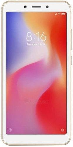 Smart phone Xiaomi Redmi 6 Dual 3+32GB gold Paveikslėlis 1 iš 5 310820161819