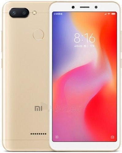 Smart phone Xiaomi Redmi 6 Dual 3+32GB gold Paveikslėlis 3 iš 5 310820161819