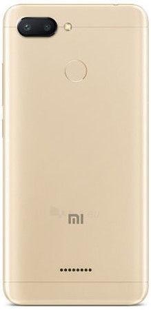 Smart phone Xiaomi Redmi 6 Dual 3+32GB gold Paveikslėlis 5 iš 5 310820161819