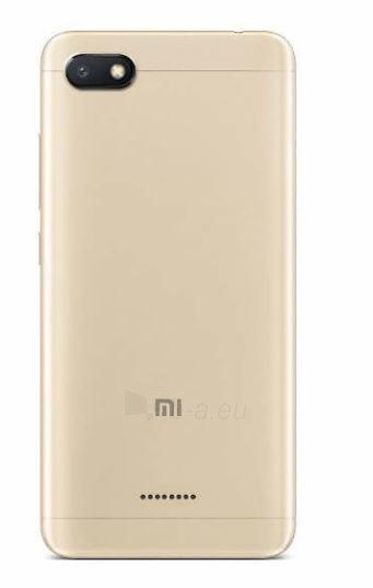 Išmanusis telefonas Xiaomi Redmi 6A Dual 2+32GB gold Paveikslėlis 2 iš 3 310820155387