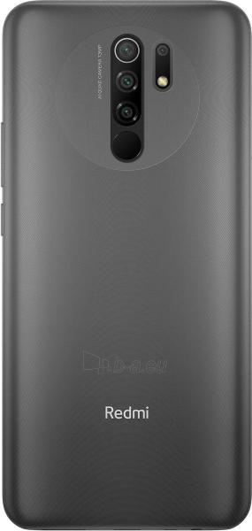 Mobilais telefons Xiaomi Redmi 9 Dual 4+64GB carbon grey Paveikslėlis 3 iš 9 310820225384