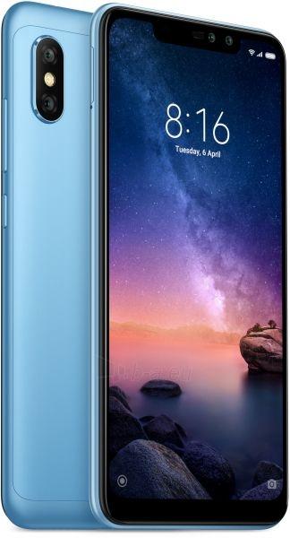 Išmanusis telefonas Xiaomi Redmi Note 6 Pro Dual 4+64GB blue Paveikslėlis 2 iš 2 310820165478