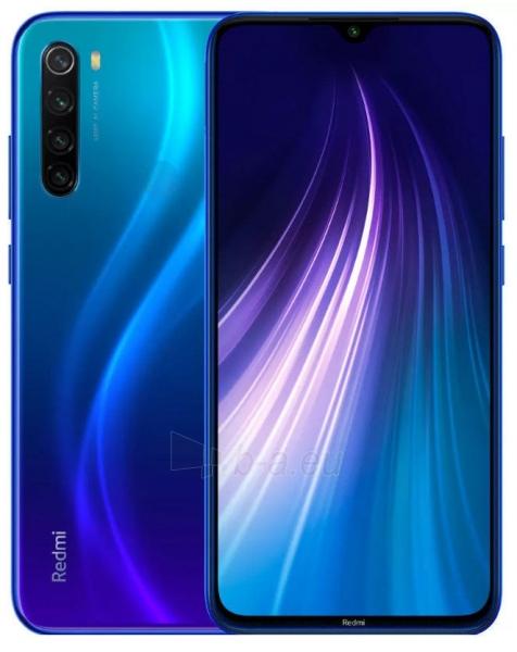 Išmanusis telefonas Xiaomi Redmi Note 8 Dual 3+32GB neptune blue Paveikslėlis 1 iš 7 310820206183