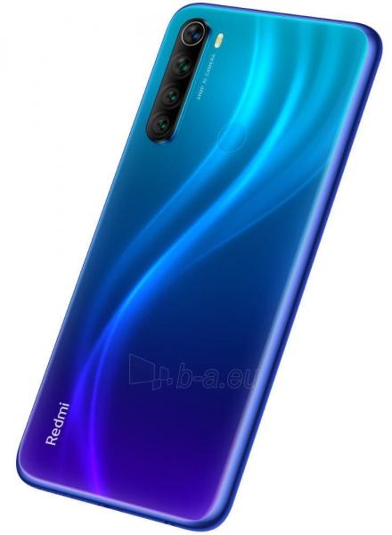 Išmanusis telefonas Xiaomi Redmi Note 8 Dual 3+32GB neptune blue Paveikslėlis 4 iš 7 310820206183