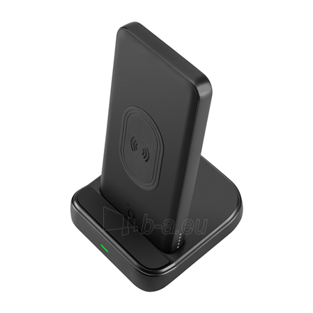 Išorinė baterija Acme Wireless Power bank PB301 10 000 mAh, Black, 2 USB ports, USB-C PD, Li-Ion Paveikslėlis 2 iš 9 310820222262