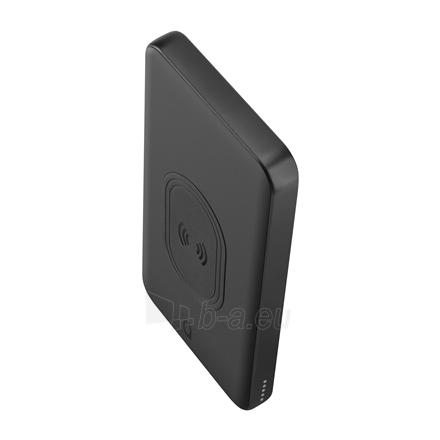 Išorinė baterija Acme Wireless Power bank PB301 10 000 mAh, Black, 2 USB ports, USB-C PD, Li-Ion Paveikslėlis 3 iš 9 310820222262
