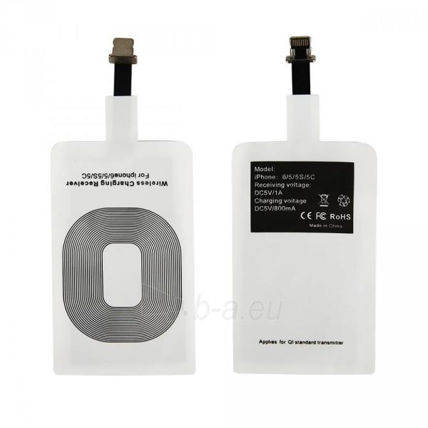 Išorinė baterija CHARGING ADAPTER QI iPhone 6 /6s/5s/5 Paveikslėlis 1 iš 1 310820044155