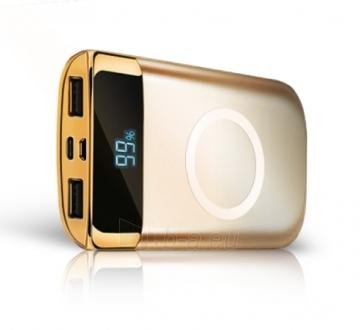 Išorinė baterija DOY Power Wireless Quick Charger 10 000mAh Paveikslėlis 2 iš 4 310820235579