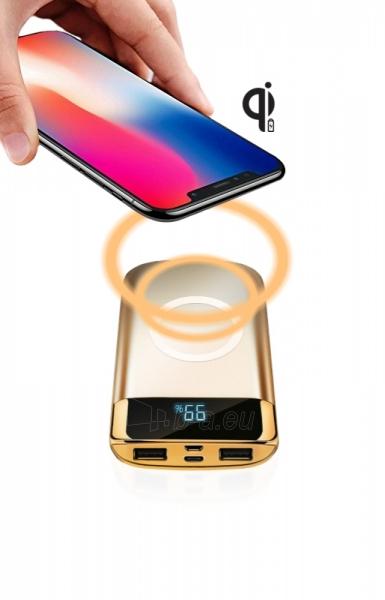 Išorinė baterija DOY Power Wireless Quick Charger 10 000mAh Paveikslėlis 3 iš 4 310820235579