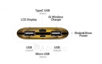 Išorinė baterija DOY Power Wireless Quick Charger 10 000mAh Paveikslėlis 4 iš 4 310820235579