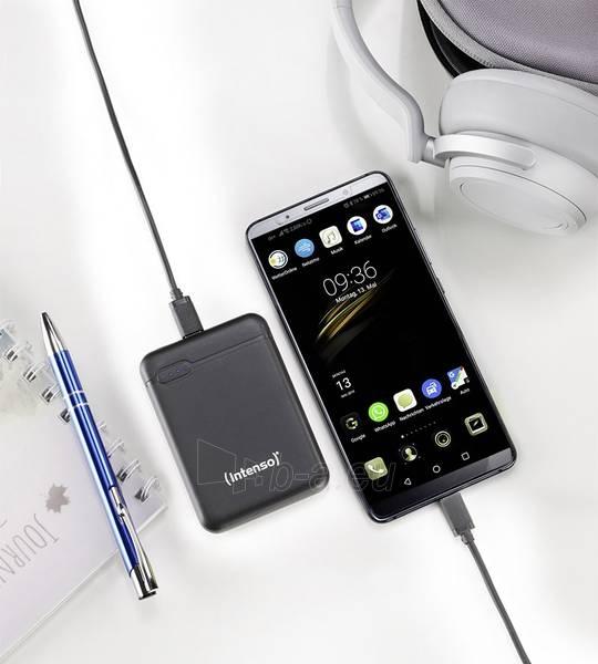 Išorinė baterija Intenso XS5000 black 7313520 Paveikslėlis 5 iš 6 310820215822