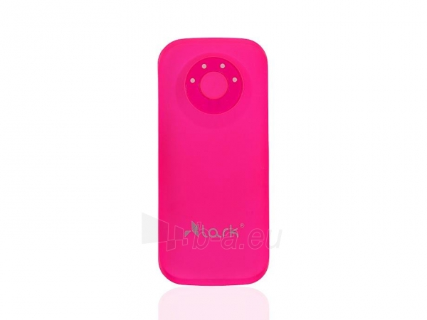 Išorinė baterija Lark Free Power HD 8400 Power Bank Pink Paveikslėlis 1 iš 1 310820043863