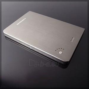 Išorinė baterija PowerNeed Sunen Power Bank 16000mAh, Li-Poly; laptop, tablet, smartfon; sidabras Paveikslėlis 1 iš 7 310820044078