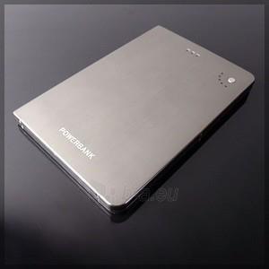 Išorinė baterija PowerNeed Sunen Power Bank 16000mAh, Li-Poly; laptop, tablet, smartfon; sidabras Paveikslėlis 4 iš 7 310820044078