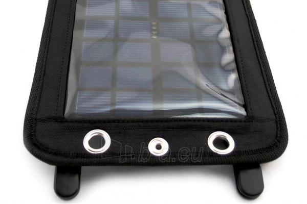 Išorinė baterija PowerNeed Sunen Solar charger 2.5W with Power Bank 3000mAh Li-Poly, black Paveikslėlis 5 iš 7 310820044147