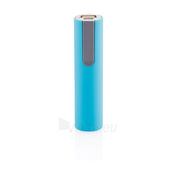 Išorinė baterija telefonui, mėlyna Paveikslėlis 1 iš 5 310820012600
