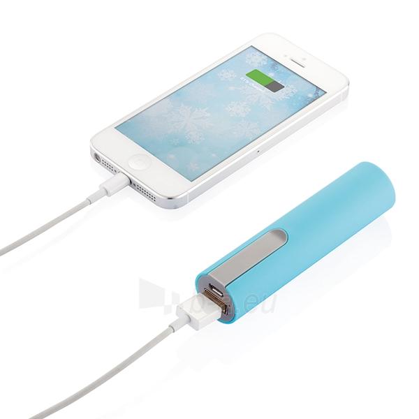 Išorinė baterija telefonui, mėlyna Paveikslėlis 3 iš 5 310820012600