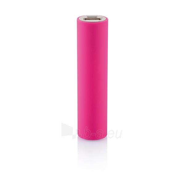 Išorinė baterija telefonui, rožinė Paveikslėlis 2 iš 4 310820012602