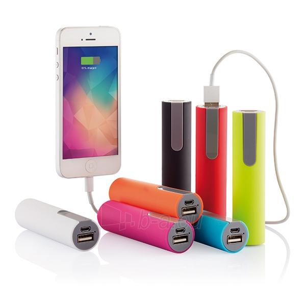 Išorinė baterija telefonui, rožinė Paveikslėlis 3 iš 4 310820012602