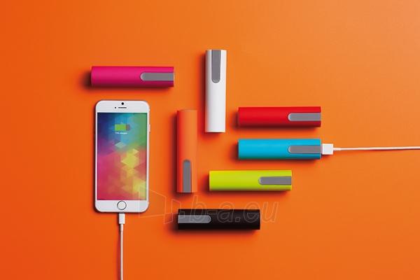 Išorinė baterija telefonui, rožinė Paveikslėlis 4 iš 4 310820012602