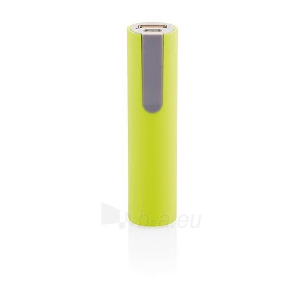 Išorinė baterija telefonui, žalia Paveikslėlis 1 iš 4 310820012603