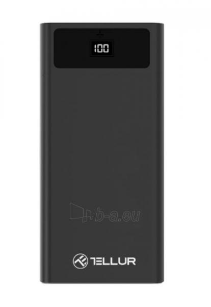 Išorinė baterija Tellur PD200 Power Bank 20000mAh black Paveikslėlis 3 iš 4 310820229603
