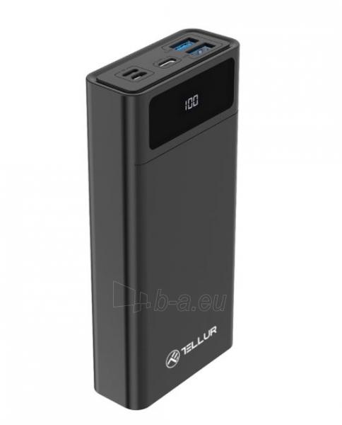 Išorinė baterija Tellur PD200 Power Bank 20000mAh black Paveikslėlis 4 iš 4 310820229603