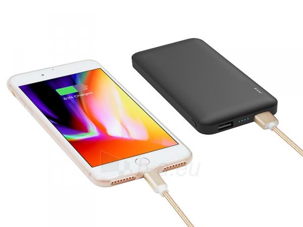 Išorinė baterija Tracer Mobile Battery 8000mAh Slim black 46439 Paveikslėlis 4 iš 4 310820215754