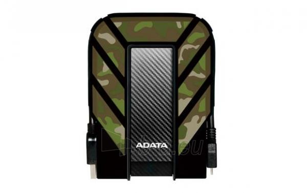 Išorinis diskas Adata HD710M Camouflage 2.5inch 1TB USB3.0, Rugged IP6X IPX8 Paveikslėlis 1 iš 5 310820037423