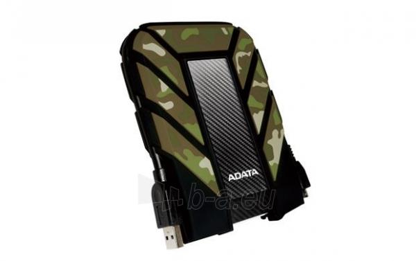 Išorinis diskas Adata HD710M Camouflage 2.5inch 1TB USB3.0, Rugged IP6X IPX8 Paveikslėlis 2 iš 5 310820037423
