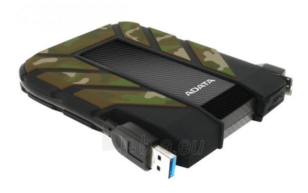 Išorinis diskas Adata HD710M Camouflage 2.5inch 1TB USB3.0, Rugged IP6X IPX8 Paveikslėlis 3 iš 5 310820037423