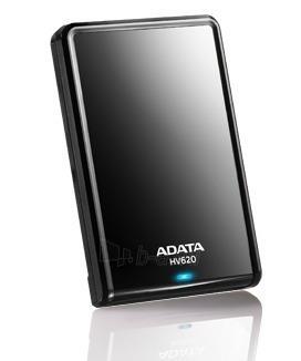 Išorinis diskas Adata HV620 2.5 1TB USB3, Stilingas, Juodas Paveikslėlis 1 iš 2 250255521690
