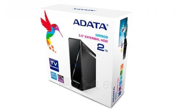 Išorinis diskas Adata Media HM900 3.5inch 2TB USB3.0, TV Įrašymas Paveikslėlis 2 iš 5 310820037379