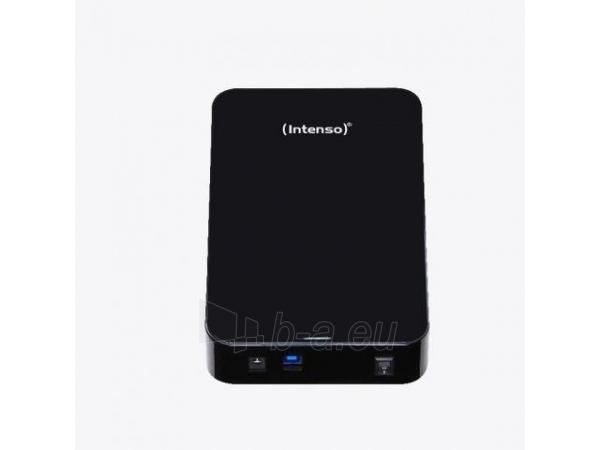 Išorinis diskas Intenso Memory Center 3.5 4TB USB3, Juodas Paveikslėlis 2 iš 3 310820037388