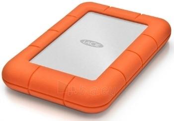Išorinis diskas LaCie Rugged Mini 2.5'' 500GB USB3 7200RPM, Atspariausias Paveikslėlis 1 iš 2 250255521310