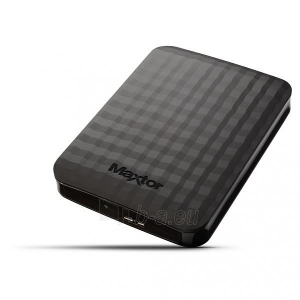 Išorinis diskas Maxtor M3 Portable 2.5inch 500GB USB3.0 Paveikslėlis 1 iš 2 310820037429