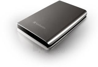 Išorinis diskas Verbatim Store & Go 2.5 500GB USB3, Sidabrinis Paveikslėlis 1 iš 1 250255521845
