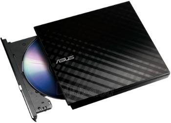 Išorinis DRW Asus SDRW-08D2S-U, USB, Šifravimas, Juodas, Retail Paveikslėlis 1 iš 1 250255521863