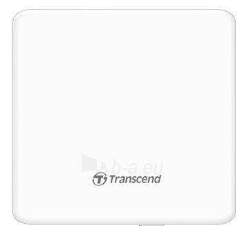 Išorinis DRW Transcend, USB, Balttas, Retail, Plonas - tik 13.9mm Paveikslėlis 2 iš 2 250255521869