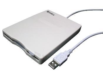 Išorinis Floppy skaitytuvas FDD Sandberg Mini, USB Paveikslėlis 1 iš 1 250256401229