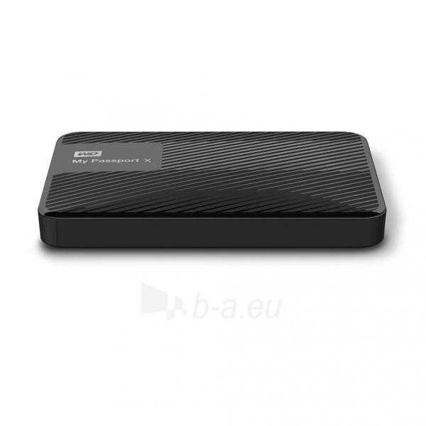 Išorinis Hard drive External HDD WD My Passport X 2.5 3TB USB 3.0 Black Paveikslėlis 3 iš 6 310820037451